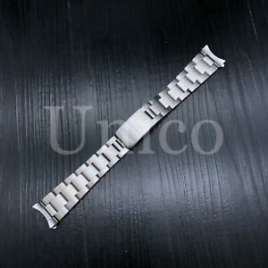OYSTER WATCH BAND BRACELET FOR ROLEX OYSTER PERPETUAL EXPLORER 20MM SATIN STEEL