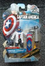 "Marvel Universe Captain america Winter Combat  4"" FIGURE 2014 Avengers"