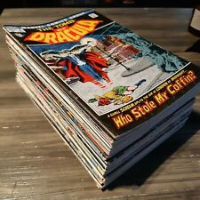 Tomb Of Dracula Lot 49 Issues 11 12 13 Blade