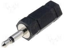 Mini Mono Jack Male to Mini Stereo Jack Female Adapter