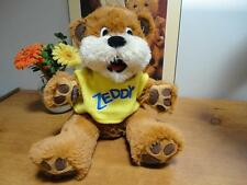 Zellers Mascot ZEDDY BEAR Retired Dept Store Collectible