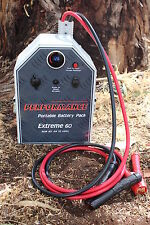 THE NEW 60AMP Portable Battery System 3 YEAR WARRANTY thumper