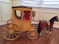 American Girl Elizabeth and Felicity Carriage and Horse