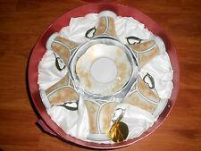 New listing Set of 6 Fine China Tea or Espresso Coffee Cups & 6 Plates