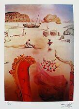 Salvador Dali PARANOIA Facsimile Signed & Numbered Giclee Art