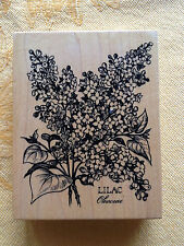 LILAC by PSX 1994  K-1299  NEW! Perfect  Rubber Stamp