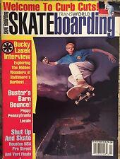 Transworld Skateboarding Apri 92 Bucky Lasek Busters Barn Bounce Shut Up & Skate