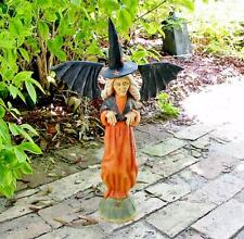 Bethany Lowe Halloween Witch with Bat Wings Anthony Costanza New Retired