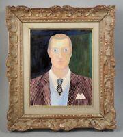 ODINE ROLANDO (1933-2020) // SUPERBE SCENE ANIMEE PORTRAIT (23)