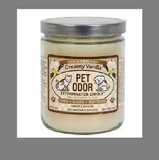 "Pet Odor Exterminator Candle "" Creamy Vanilla """