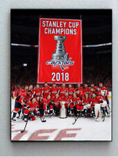 Framed Washington Capitals Team Photo Stanley Cup Banner Championship big Giclée