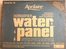 Aprilaire #35 Humidifier Water Panel fits Model  #'s 700, 700A, 700M, 760 & 768