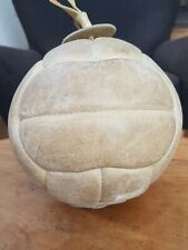 Vintage Leather French Medicine/Boxing Ball