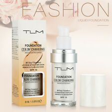 TLM Flawless Color Changing Foundation Makeup Base Face Liquid Cover Concealer T