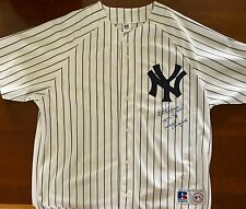 Ed Figueroa Autographed New York Yankee Jersey - Inscribed
