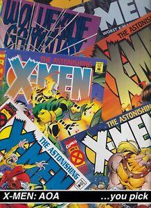 CLEARANCE: X-Men Age of Apocalypse AOA Wolverine Gambit MARVEL comics Bin 1205