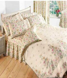 Vantona Home Cottage Garden Floral Single Bedset Bedding Duvet Cover Pillowcase