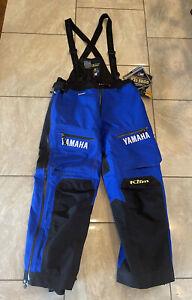 Klim mens Large, extreme gor tex snowmobile bibs, special YAMAHA edition