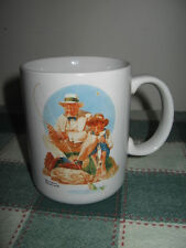 """""""Catching the Big One"""" Mug ~ Norman Rockwell Museum Collections 12oz Coffee Tea"""