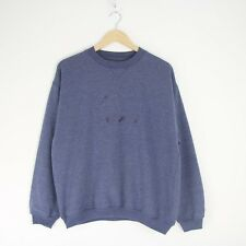 Vintage 90s HEAD Embroidered Spell Out Crewneck Sweater Jumper Tennis S 2731