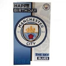Official Manchester City F.C. Birthday Card