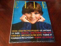 Rivista Magazine Elle France 8 Novembre 1976