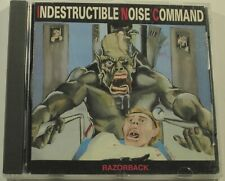 Indestructible Noise Command Razorback CD ORIGINAL 1988 Giant OOP Thrash Metal