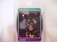 1988 Fleer Basketball Karl Malone #114 Card