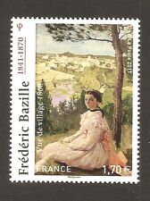 FRANCE 2017 - N°5122 OEUVRE de FREDERIC BAZILLE   NEUF ** LUXE MNH