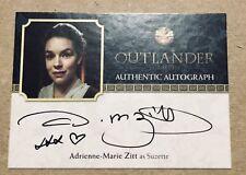 Outlander Season 2 Autograph Adrienne-marie Zitt as Suzette AMZ Trading Card