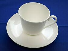 Villeroy & Boch Fiori weiss . 1 Kaffeetasse mit Untertasse  . V&B