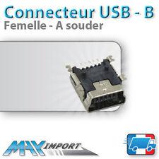 Connecteurs Mini USB Type-B - Femelle A souder - Lots multiples, prix dégressif