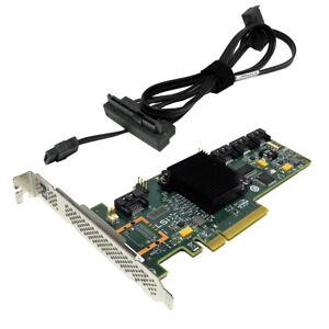 HP LSI SAS9212-4i 4-Port 6Gb PCIe x8 SAS/SATA RAID Controller + Kabel 689576-001
