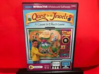 Quest For The Jewels A Cause & Effect Game Grades 4-6 PC GAME -B626
