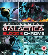 Battlestar Galactica - Blood And Chrome - Complete Mini Series Blu-Ray