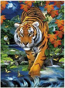Clementoni On The Prowl Magic 3D Puzzle 1000-Piece, Multi-Colour