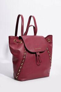 Michael Kors Sadie Mulberry Leather Womens' Medium Backpack MSRP $328