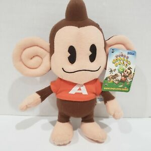 "2002 Sega Promotional Super Monkey Ball 2 Approx 8"" AiAi Promo Plush RARE"