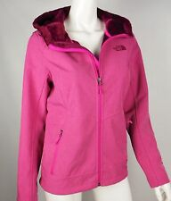 WOMEN THE NORTH FACE JACKET COAT WINDWALL PINK TEAL OSITO SOFT SHELL SMALL