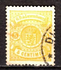 Luxembourg - 1880 Definitives Coat of Arms - Mi. 39A (perf. 13,5)) VFU