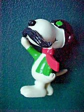 Peanuts Snoopy with Mustache Figurine