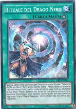 YU-GI-OH! DRL2-IT019 Rituale Del Drago Nero Super Rara YUGIOH Ita