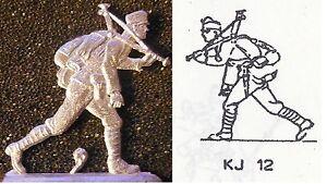 K.u.K. Österreich Infanterie WW 1 -  Dreibeinlafette tragend - Zinnfigur 30 mm