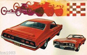 1970 MERCURY Brochure: CYCLONE,COUGAR,MONTEGO,MARQUIS,MONTEREY,MARQUIS,XR-7,MX,