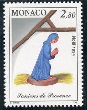 STAMP / TIMBRE DE MONACO N° 1957 ** NOEL / SANTONS DE PROVENCE / LA VIERGE MARIE