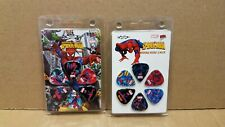 Marvel Spiderman Guitar Picks New Set of 12 Rare Discontinued Perris