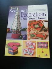 Seasonal Decorations For Your Home Plastic Canvas Leaflet The Needlecraft Shop