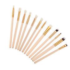 12pcs Pennelli Make Up Cosmetic Brush Foundation Eyeliner Lip Brush Trucco Set
