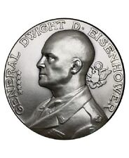 Medaille general Eisenhower bronze argenté