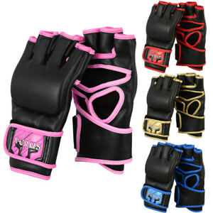 VERUS Cage Fight Training MMA Gloves UFC Boxing Mitts Grappling Bag Muay Thai